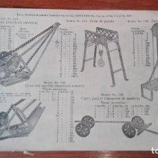 Juguetes antiguos: MECCANO INSTRUCCIONES EQUIPOS EMPIEZA EMPIEZA PAG 31. Lote 171021430