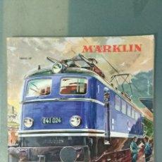 Juguetes antiguos: MARKLIN CATALOGO TRENES 1960 - 61. INCLUIDO TARIFAS.. Lote 172722522
