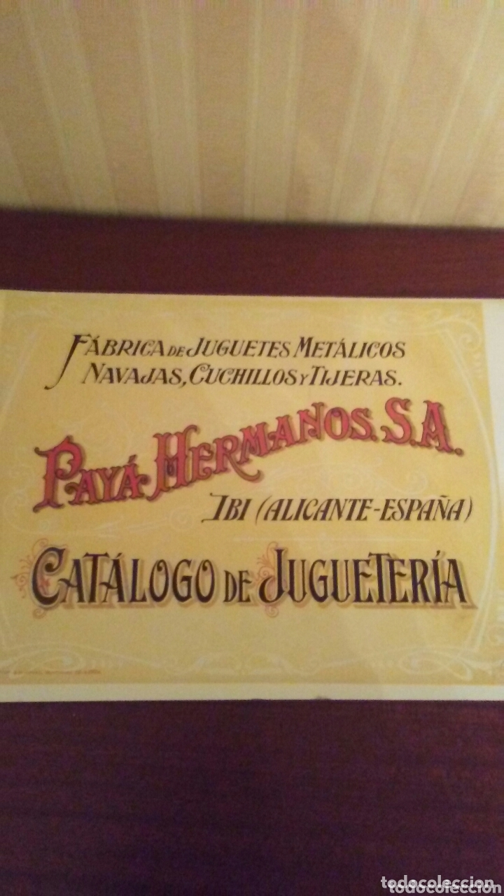 CATALOGO DE JUGUETES PAYA ,CONSTA DE 20 HOJAS +PORTADA Y CONTRAPORTADA TOTA40 PAGINAS (Juguetes - Catálogos y Revistas de Juguetes)