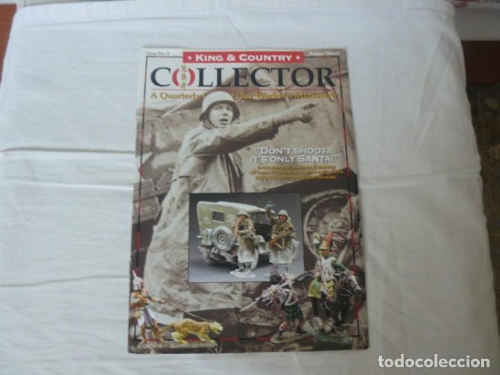 KING & COUNTRY COLLECTOR Nº 8 TITULADO DON´T SHOOT... IT´S ONLY SANTA WINTER 2004/5 (Juguetes - Catálogos y Revistas de Juguetes)