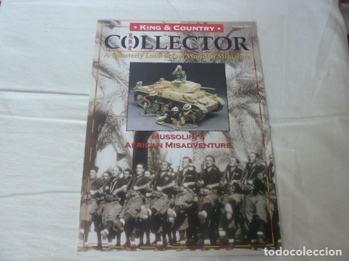 KING & COUNTRY COLLECTOR Nº 17 TITULADO MUSSOLINI´S AFRICAN MISADVENTURE SPRING 2007 (Juguetes - Catálogos y Revistas de Juguetes)