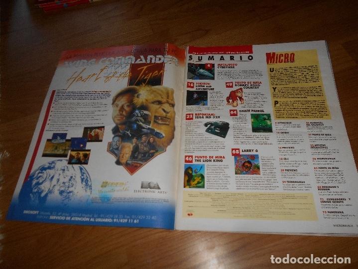 Juguetes antiguos: Revista Micro Mania Micromania Segunda epoca nº numero 79 DONKEY KONG LARRY SEGA - Foto 2 - 173467700