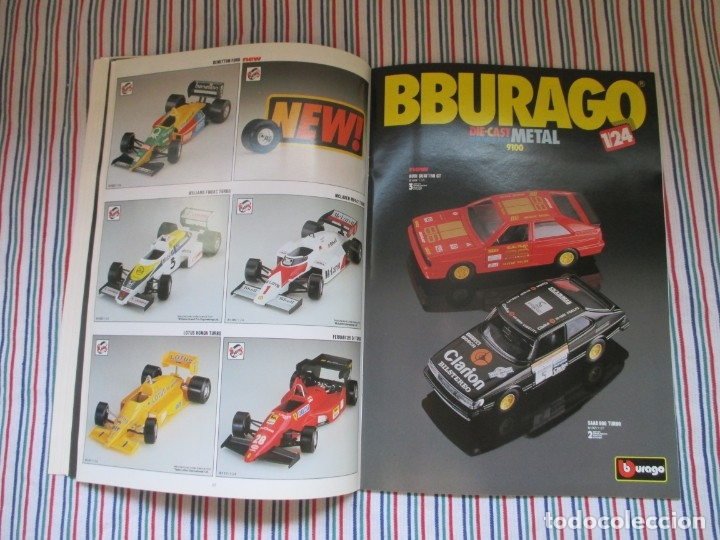 Juguetes antiguos: BURAGO, DIFICIL CATALOGO TIENDA AÑO 1989 - Foto 14 - 173489063