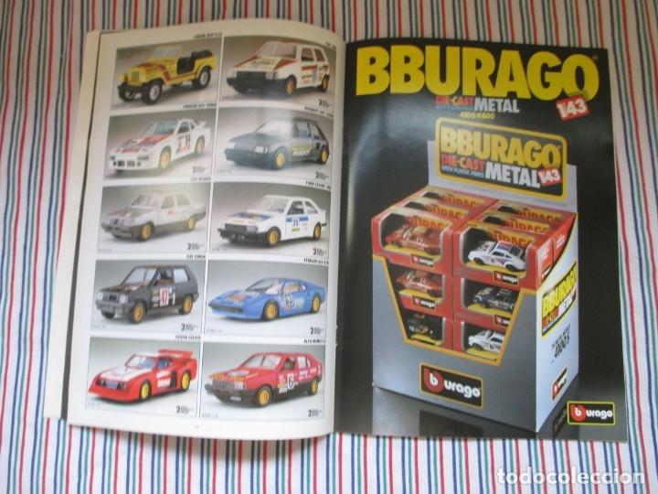 Juguetes antiguos: BURAGO, DIFICIL CATALOGO TIENDA AÑO 1989 - Foto 15 - 173489063