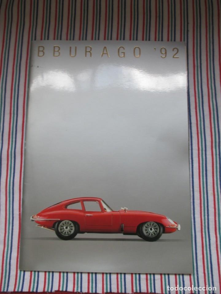 Juguetes antiguos: BURAGO, DIFICIL CATALOGO TIENDA AÑO 1992 - Foto 2 - 173490522