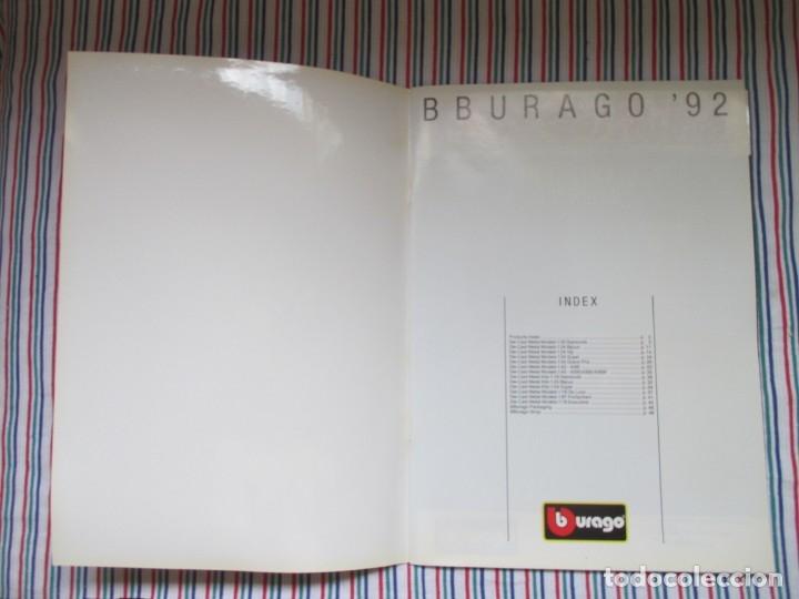 Juguetes antiguos: BURAGO, DIFICIL CATALOGO TIENDA AÑO 1992 - Foto 3 - 173490522