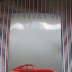 Juguetes antiguos: BURAGO, DIFICIL CATALOGO TIENDA AÑO 1992. Lote 173490522