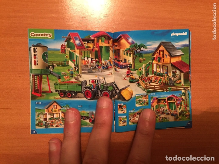 Juguetes antiguos: Playmobil catálogo grapa. 2012. Geobra - Foto 4 - 173662649