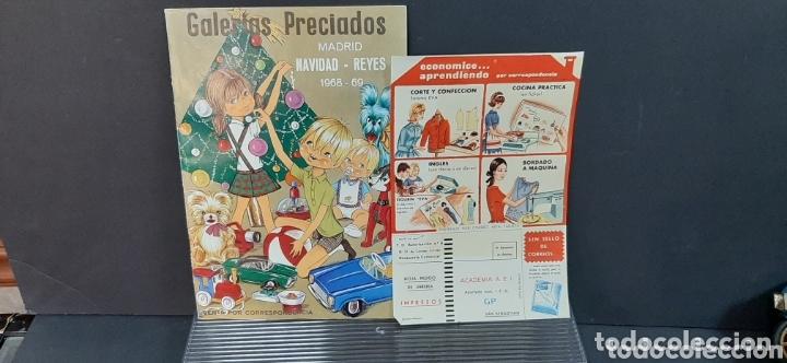 Juguetes antiguos: Catalogo navidad y juguetes GALERIAS PRECIADOS 1068/69 - Foto 3 - 173815673
