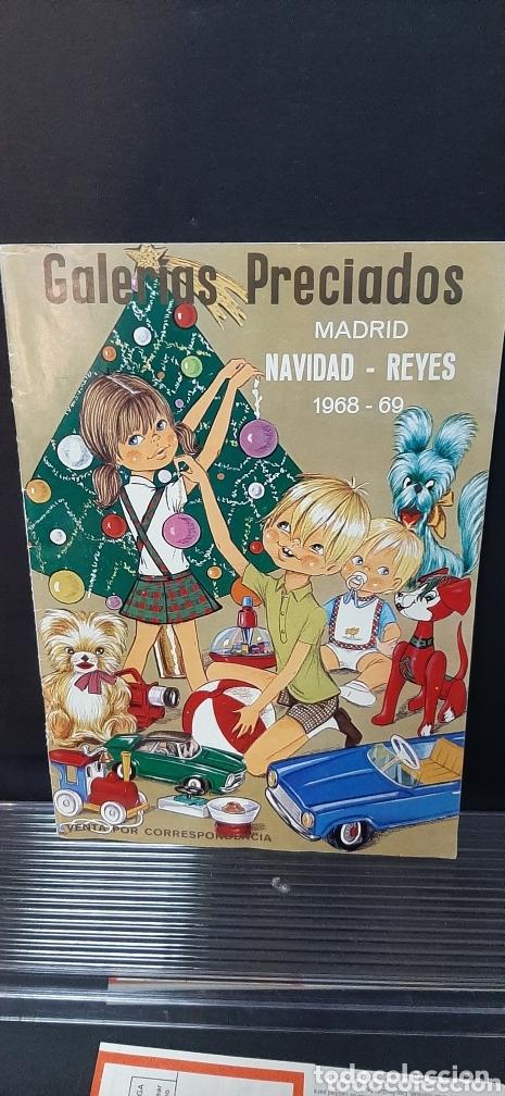 Juguetes antiguos: Catalogo navidad y juguetes GALERIAS PRECIADOS 1068/69 - Foto 5 - 173815673