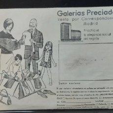 Juguetes antiguos: CATALOGO NAVIDAD Y JUGUETES GALERIAS PRECIADOS 1068/69. Lote 173815673