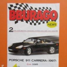 Juguetes antiguos: CATALOGO BBURAGO NOTICIAS 1998. Lote 173970862