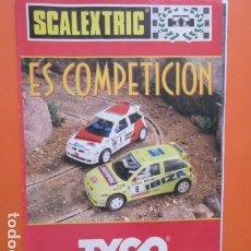 Juguetes antiguos: SCALEXTRIC ES COMPETICION TYCO 1996 REVISTA . Lote 173970995
