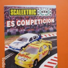 Juguetes antiguos: SCALEXTRIC ES COMPETICION TYCO 1997/98 REVISTA . Lote 173971037