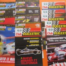 Juguetes antiguos: SCALEXTRIC LOTE 14 REVISTAS CLUB AÑOS 1998 A 2002. Lote 173971077