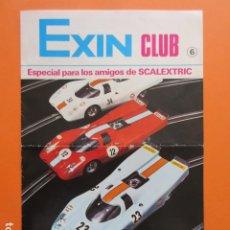 Juguetes antiguos: SCALEXTRIC REVISTA EXIN CLUB . Lote 173971128