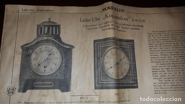 Juguetes antiguos: Catálogo Märklin 1924 (Primera edición alemana dirigida al público) - Foto 34 - 173995843