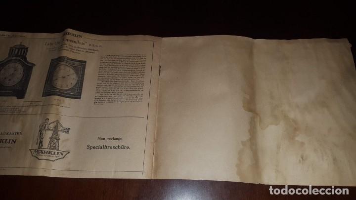 Juguetes antiguos: Catálogo Märklin 1924 (Primera edición alemana dirigida al público) - Foto 36 - 173995843