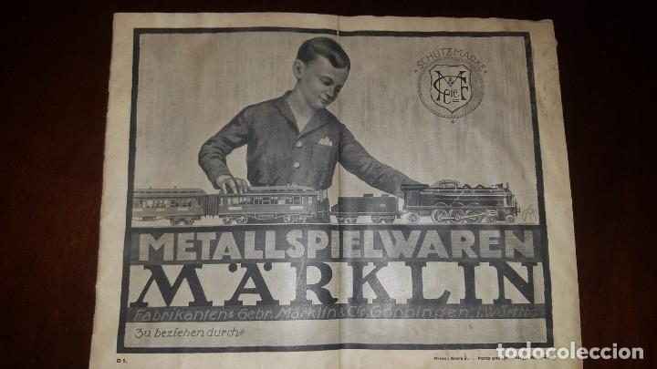 CATÁLOGO MÄRKLIN 1924 (PRIMERA EDICIÓN ALEMANA DIRIGIDA AL PÚBLICO) (Juguetes - Catálogos y Revistas de Juguetes)