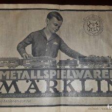 Juguetes antiguos: CATÁLOGO MÄRKLIN 1924 (PRIMERA EDICIÓN ALEMANA DIRIGIDA AL PÚBLICO). Lote 173995843