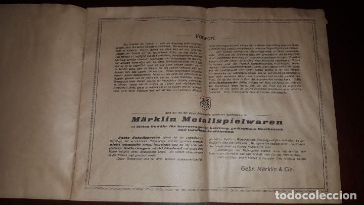 Juguetes antiguos: Catálogo Märklin 1924 (Primera edición alemana dirigida al público) - Foto 2 - 173995843