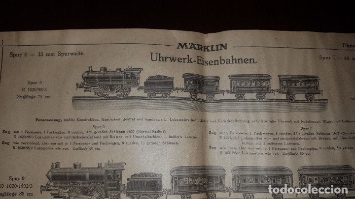 Juguetes antiguos: Catálogo Märklin 1924 (Primera edición alemana dirigida al público) - Foto 4 - 173995843