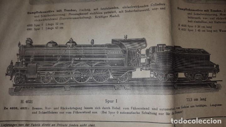 Juguetes antiguos: Catálogo Märklin 1924 (Primera edición alemana dirigida al público) - Foto 6 - 173995843