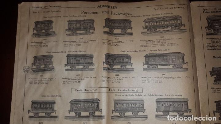 Juguetes antiguos: Catálogo Märklin 1924 (Primera edición alemana dirigida al público) - Foto 8 - 173995843