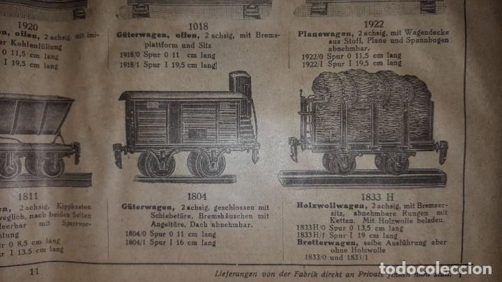 Juguetes antiguos: Catálogo Märklin 1924 (Primera edición alemana dirigida al público) - Foto 10 - 173995843