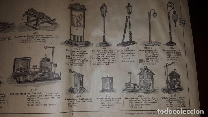 Juguetes antiguos: Catálogo Märklin 1924 (Primera edición alemana dirigida al público) - Foto 12 - 173995843