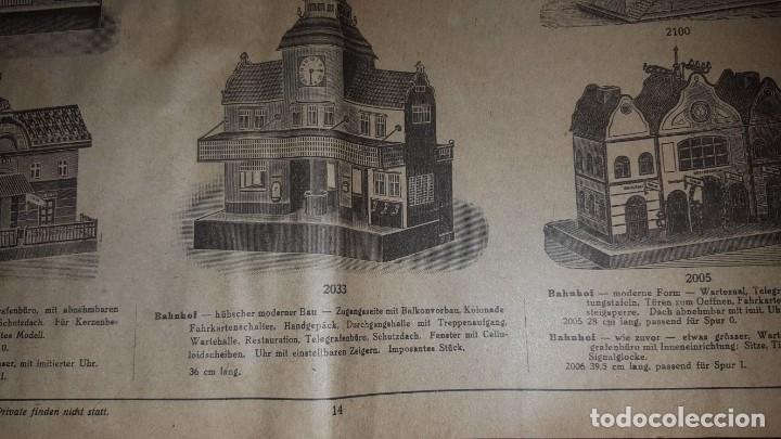 Juguetes antiguos: Catálogo Märklin 1924 (Primera edición alemana dirigida al público) - Foto 13 - 173995843