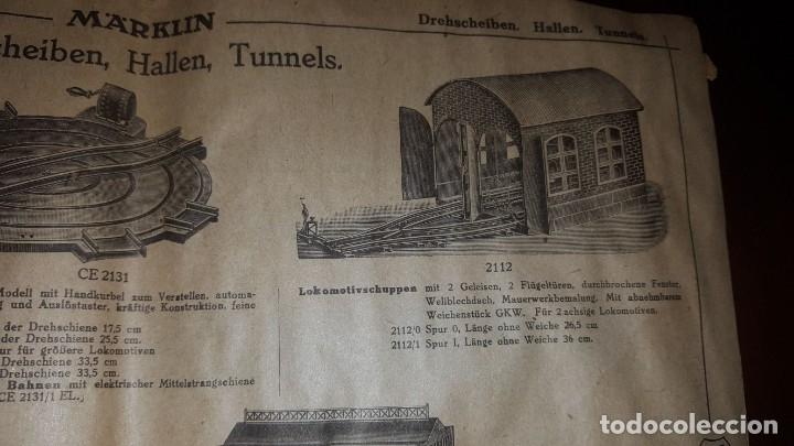 Juguetes antiguos: Catálogo Märklin 1924 (Primera edición alemana dirigida al público) - Foto 14 - 173995843