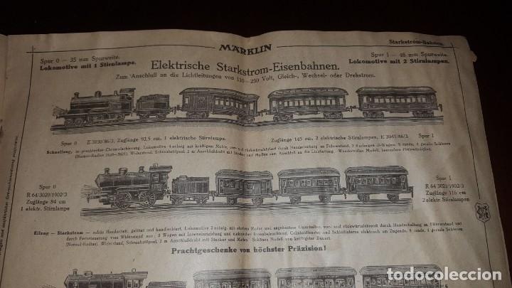 Juguetes antiguos: Catálogo Märklin 1924 (Primera edición alemana dirigida al público) - Foto 15 - 173995843