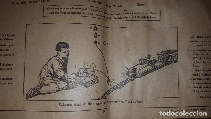 Juguetes antiguos: Catálogo Märklin 1924 (Primera edición alemana dirigida al público) - Foto 16 - 173995843