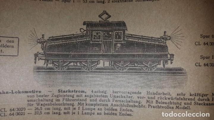 Juguetes antiguos: Catálogo Märklin 1924 (Primera edición alemana dirigida al público) - Foto 17 - 173995843
