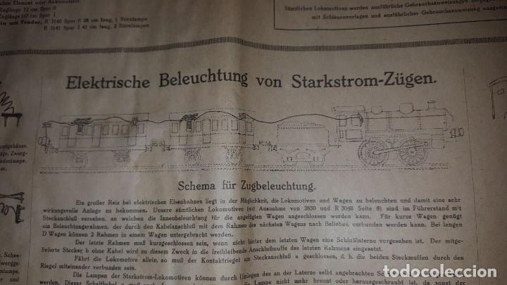 Juguetes antiguos: Catálogo Märklin 1924 (Primera edición alemana dirigida al público) - Foto 18 - 173995843
