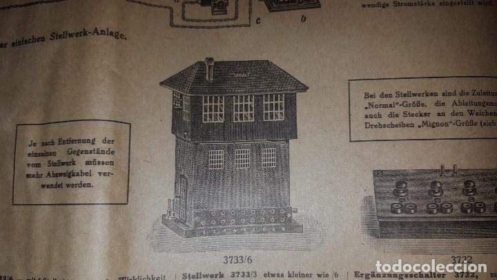 Juguetes antiguos: Catálogo Märklin 1924 (Primera edición alemana dirigida al público) - Foto 20 - 173995843