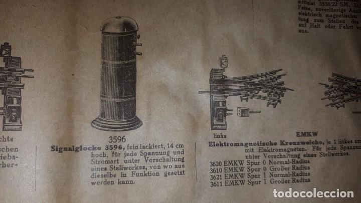 Juguetes antiguos: Catálogo Märklin 1924 (Primera edición alemana dirigida al público) - Foto 21 - 173995843