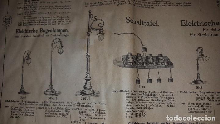 Juguetes antiguos: Catálogo Märklin 1924 (Primera edición alemana dirigida al público) - Foto 22 - 173995843