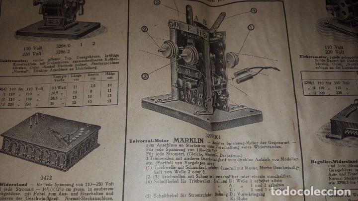 Juguetes antiguos: Catálogo Märklin 1924 (Primera edición alemana dirigida al público) - Foto 23 - 173995843
