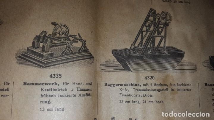 Juguetes antiguos: Catálogo Märklin 1924 (Primera edición alemana dirigida al público) - Foto 25 - 173995843