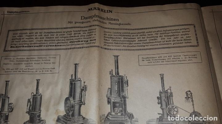 Juguetes antiguos: Catálogo Märklin 1924 (Primera edición alemana dirigida al público) - Foto 26 - 173995843