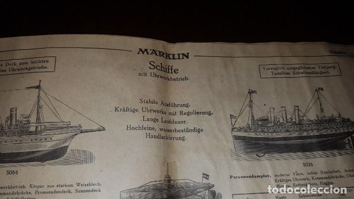 Juguetes antiguos: Catálogo Märklin 1924 (Primera edición alemana dirigida al público) - Foto 29 - 173995843