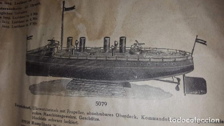 Juguetes antiguos: Catálogo Märklin 1924 (Primera edición alemana dirigida al público) - Foto 30 - 173995843