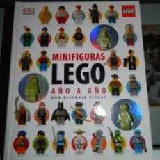 Juguetes antiguos: LEGO LIBRO MINIFIGURAS AÑO 2015. Lote 174999848