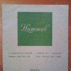 Juguetes antiguos: HUMMEL - TOYS MODELS MINIATURES. Lote 175020270