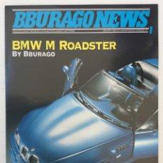 Juguetes antiguos: CATÁLOGO BBURAGO NEWS Nº 1 – ENERO 1997 - BMW M ROADCASTER - TAVITOYS. Lote 175256432