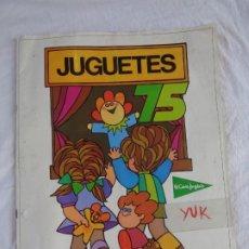 Juguetes antiguos: SUPER CATALOGO DE JUGUETES - EL CORTE INGLES - AÑO 1975 - 68 PAGS -RAREZA- NANCY MADELMAN SCALEXTRIC. Lote 175420457