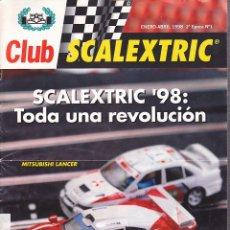 Juguetes antiguos: REVISTA DEL CLUB SCALEXTRIC 2ª EPOCA Nº 1. Lote 255511165