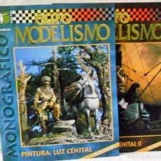 Brinquedos antigos: MONOGRAFICO EURO MODELISMO 2 REVISTAS, PINTURA CENITAL I, II, ACRILICOS. Lote 176201392